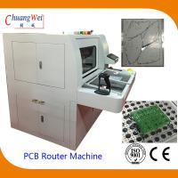 Double Station PCB Router Machine With Auto Routing Bit Checker for sale