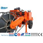 China Orange 129kw 173hp Overhead Line Stringing Equipment Hydraulic Cable Puller for sale