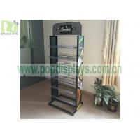2 Sides Metal Wire Retail Display Racks For Greenfield / Displaying Merchandise for sale
