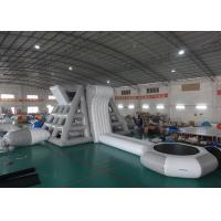 Amercian Customized Water Park Combo Inflatable , Inflatable Big Slide Park