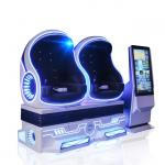 China 4 KW 9D VR Egg Chair Virtual Reality Space Capsule For Resort , Zoo for sale