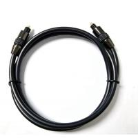 China 3 Feet Golden Plated 6mm Toslink  Fiber Optic Audio Cable For TV Non - Shielded for sale