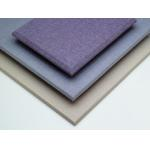 Fabric Covered Acoustic Wall Panels Sound Proofing and Fireproof Materials for sale