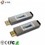 4K*2K 3D Mini HDMI Over Fiber Optic Extender 850nm Wavelength Support HDCP for sale