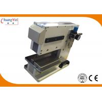 PCB Separator Pcb V Cut Machine With Pneumatically Driven / Electromagnetic Valve Control for sale