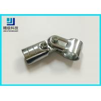 China Universal Metal Joints Chrome Pipe Connectors For ESD Workbench HJ-7D supplier