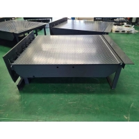 China Hydraulic Dock Leveler Safe-T-Lip Or Roll-Off Dock Leveler Defend Against Vacant Dock Drop-off Accidents for sale
