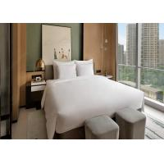 Customized Modern Hotel Bedroom Furniture Bed Room Set For 3-4 Star Hotel for sale