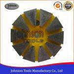 China Professional 75mm Diameter Turbo Cup Diamond Grinding Wheels For Concrete And Stone for sale