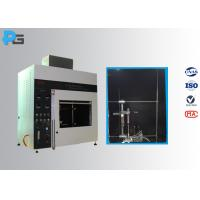 China Vertical / Horizontal Flame Apparatus Lab Testing Equipment 5V / HB/ V-0/1/2 UL94 for sale