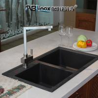 China Hot And Cold Water Bathroom Stainless Steel Faucet for sale