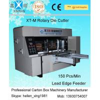 China Double Roller Carton Making Machine With High Precision Of Die Cutting And Molding for sale