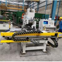 Good Rigidity CNC Plate Punching Machine C - Type Plate Welding Frame for sale