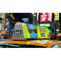 China 3G/4G P5 Two Side Taxi Top LED Display / LED Panel Full Color Dimension Customized for sale