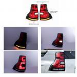 Red 4x4 LED Car Tail Lights For Toyota  Landcruiser Prado 2018 FJ150 / Auto Rear Light for sale