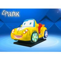China Indoor Amusement Genius Racer Rocking Car Kiddy Ride Machine For Home Theater for sale
