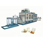 High Speed PS Foam Fast Food Box Machine / Automatic Thermoforming Machine for sale