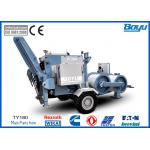 China 19t Overhead  Tension Stringing Equipment Hydraulic Puller with Cummins Diesel Engine for sale