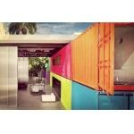 Durable Economical Flat Pack Shipping Container Home Removable Assemble Easily for sale
