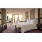 Elegant Hotel Style Bedroom Furniture Veneer Matching With Good Pattern for sale