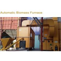 Classic Biomass Furnace / Husk Burner With Automatic Feeding And Ash Removal Option for sale