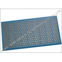 Blue Adhesive Shale Shaker Screen , 1181 X 712mm Size Sand Dewatering Screen for sale
