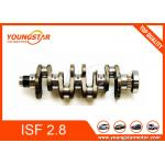 China Genuine Forged Steel Crankshaft For Foton Cummins Isf2.8 Isf 2.8 Isf28 5264230 5264231 5340179 for sale