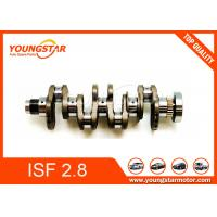 Genuine Forged Steel Crankshaft For Foton Cummins Isf2.8 Isf 2.8 Isf28 5264230 5264231 5340179 for sale