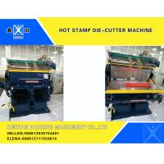 Semi - Automatic Smooth Creasing Cutting Machine Hot Stamp Die Cutter Machine for sale