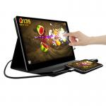 China 13.3 inch Ultra-thin IPS 1080P type C 10 points touch screen portable monitor for sale