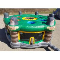 Outdoor And Indoor Inflatable Sport Games For Interactive Fun Customized Size for sale