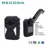 Support External Camera GPS 1296P Fire Resistance11 Hrs Recording IP67 Police Handy Video DVR for sale