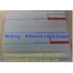 China 2 Colors Print Direct Thermal Label Roll Edge Distance 1.5mm Gap Distance 3mm for sale