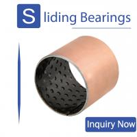 ISO 9001 Dry Self Lubricating Bearings , Pom Bushing For Mining Machinery for sale