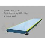 High Precision 100T Digital Truck Scale with U-Shaped Steel Structure