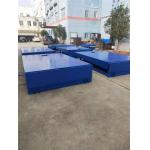 China Truck Hydraulic Loading Dock Levelers 8 Ton With Hinged 400mm Dock Lip for sale