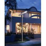 China All in one Smart solar street light high efficiency IP 65 PIR motion sensor for sale
