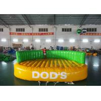 Crazy UFO Boat Water Games Commerial Best 0.9mm PVC Inflatable Water Toy for sale