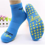 China Amazing Kids & Adults Anti Friction Bounce Yoga Socks Amusement Park Non Slip Trampoline Socks for sale
