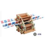 Marine Pilot Rope Ladder Willow Material 5 - 45m Length For Cargo Vessels for sale