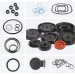 China Rubber fittings for valve sealing / temperature / noise / vibration / oil requirements for sale