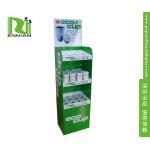Promotional Cardboard Floor Displays , Coffee Mug / Cup Cardboard Display Rack for sale