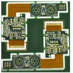 FR-4 Flexible Rigid PCB , 12 Layers Circuit Board Printing Service ISO Approval