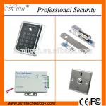 China Standalone rfid access controller without software exdit button and power supply door access controller kits for sale