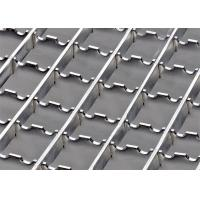 China Anti Rust Stainless Steel Bar Grating Optional Serrated / Algrip Surfaces supplier
