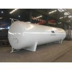 60CBM Liquid Propane Ammonia Butane Gas Bullet Storage Tank For Gas Station Installation for sale