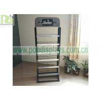 China 2 Sides Metal Wire Retail Display Racks For Greenfield / Displaying Merchandise supplier