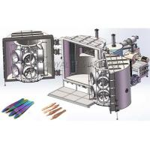 Metal Clip Chrome PVD Magnetron Sputtering Machine / Vacuum Deposition Equipment for sale