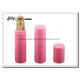 Pink 25 Ml Airless Pump Bottles Transparent Airless Pump Bottle for sale