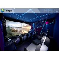 China Theme Park 7D Motion Film Theater Equipment With Attracting 12 Dynamic Special Effects for sale
